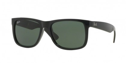 Ray-Ban 0RB4165 JUSTIN 601/71 Black - Green