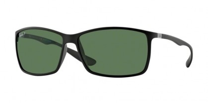 Ray-Ban 0RB4179 LITEFORCE 601S9A Matte Black - Green Polarized