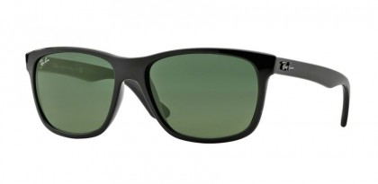 Ray-Ban 0RB4181 RB4181 601 Black - Crystal Green