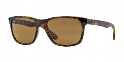 Ray-Ban 0RB4181 RB4181 710/83 Light Havana - Brown Polarized
