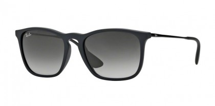 Rayban YOUNGSTER 0RB4187 CHRIS 622/8G Rubber Black - Grey Gradient