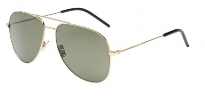 Saint Laurent CLASSIC 11-008 Gold Gold - Shiny Green