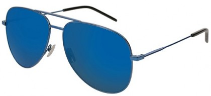Saint Laurent CLASSIC 11-026 Blue Blue - Shiny Blue