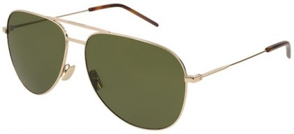 Saint Laurent CLASSIC 11-028 Gold Gold - Light Green