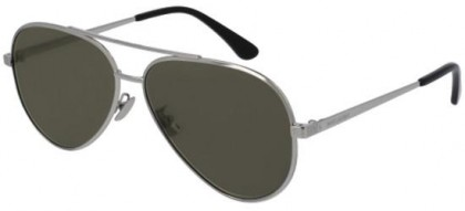 Saint Laurent CLASSIC 11 ZERO-001 Silver Silver - Shiny Grey