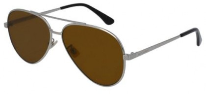 Saint Laurent CLASSIC 11 ZERO-004 Silver Silver - Brown