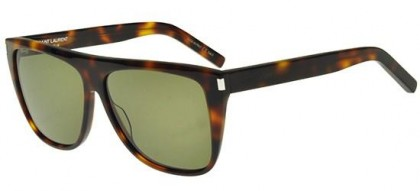 Saint Laurent SL 1-003 Havana Havana - Light Green