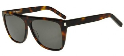 Saint Laurent SL 1-004 Havana Havana - Dark Smoke