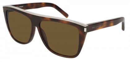 Saint Laurent SL 1 COMBI-003 Havana Havana - Shiny Brown