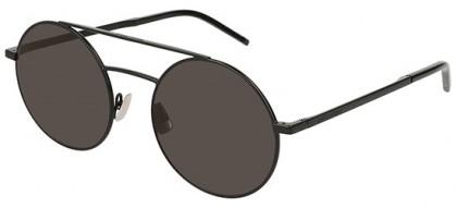 Saint Laurent SL 210-002 Black Black - Matte Grey