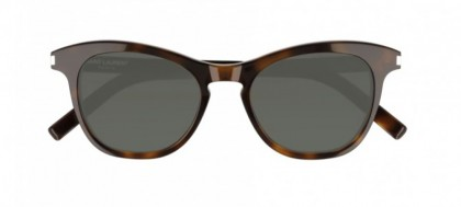 Saint Laurent SL 356-003 Havana - Green Shiny