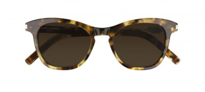 Saint Laurent SL 356-004 Havana - Brown Shiny