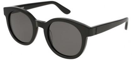 Saint Laurent SL M15-001 Black Black - Shiny Grey