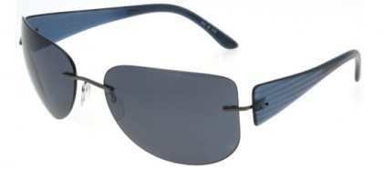 Silhouette 8101 6130 Avio - Grey Polarized