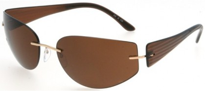 Silhouette 8102 6129 Brown - Brown Polarized