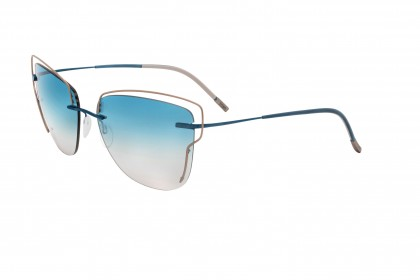 Silhouette 8162 TMA Atwire 4540 A Gold Blue - Blue Shaded