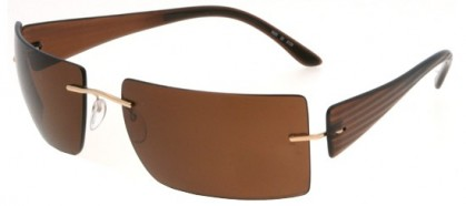 Silhouette 8626 6129 Brown - Brown Polarized