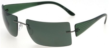 Silhouette 8626 6150 Green - Green Polarized