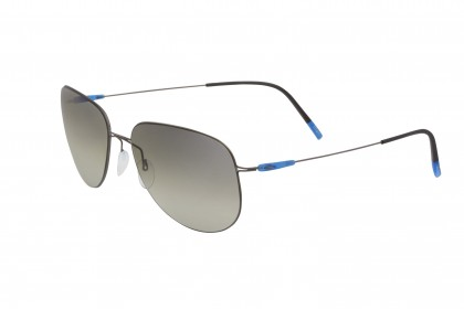 Silhouette 8693 Titan Breeze 6560 Matte Grey - Blue Shaded Grey