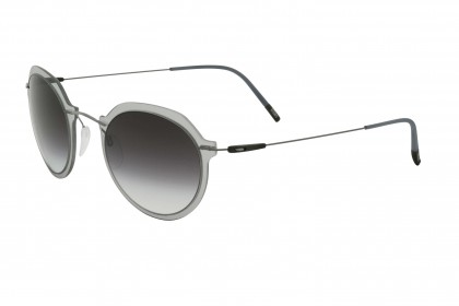 Silhouette 8695 Infinity Colleciton 6560 C Crystal Grey Silver - Grey Shaded