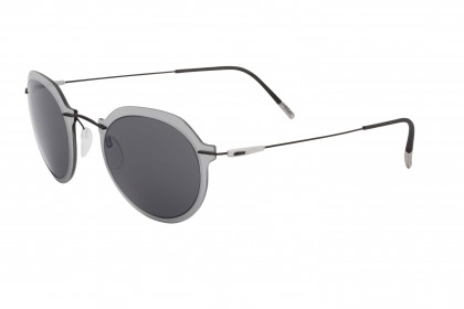 Silhouette 8695 Infinity Colleciton 9040 B Crystal Black - Grey