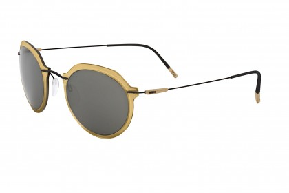 Silhouette 8695 Infinity Colleciton 9140 A Gold Black - Grey