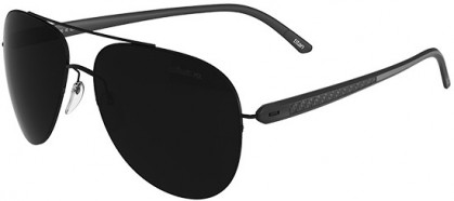 Silhouette CARBON T1 8687 6200 Black - Grey Polarized