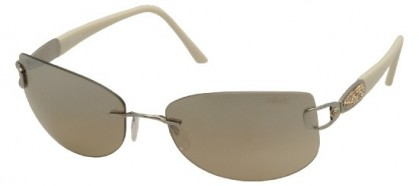 Silhouette SILHOUETTE 8123/S 6089 Ruthenium Ivor - Grey Olive