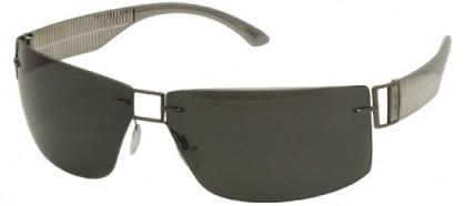 Silhouette SILHOUETTE 8648/S 6200  Ruthenium Grey - Grey Polarized