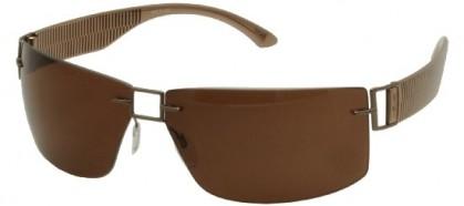 Silhouette SILHOUETTE 8648/S 6201 Bronze Brown - Brown Polarized
