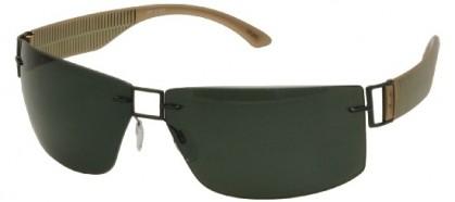 Silhouette SILHOUETTE 8648/S 6202 Dark Green Khaki - Grey Green Polarized