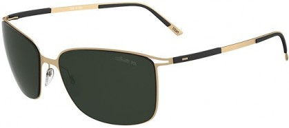 Silhouette TITAN CONTOUR 8153 6202 Gold - Dark Grey Polarized
