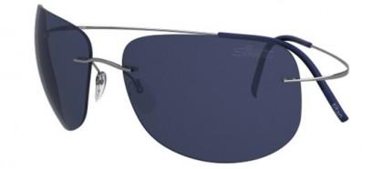 Silhouette TMA ULTRA THIN 8676 6232 Silver - Blue