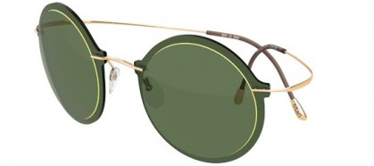 Silhouette WES GORDON 9908 6050 Green Gold - Green