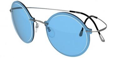 Silhouette WES GORDON 9908 6053 Grey Blue Ruthenium - Blue