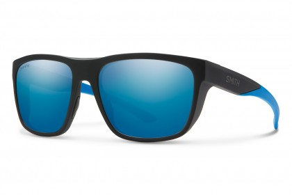 Smith BARRA 0VK/QG Matte Black Blue - Blue Grey Mirror