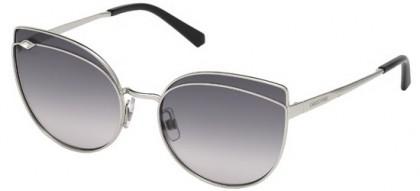 Swarovski SK0172 16B Silver - Grey Shaded