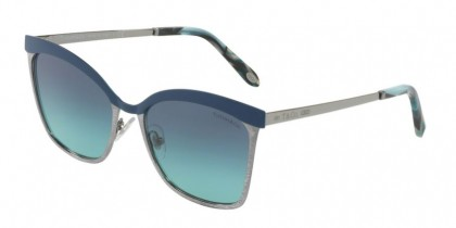 Tiffany 0TF3060 61299S Blue Gunmetal - Blue Gradient