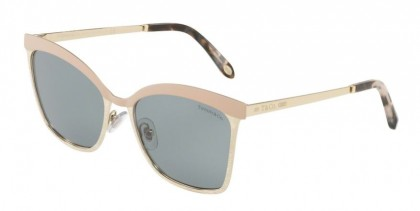 Tiffany 0TF3060 61301 Nude Pale Gold - Dark Grey