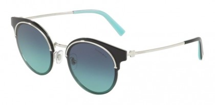 Tiffany 0TF3061 60019S Silver - Azure Gradient Blue