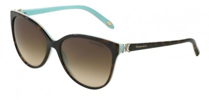 Tiffany 0TF4089B 81343B Havana Blue - Brown Gradient