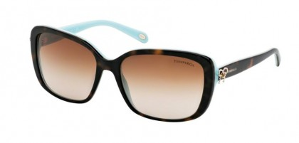 Tiffany 0TF4092 81343B Havana Blue - Brown Gradient