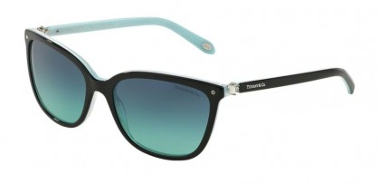 Tiffany 0TF4105HB 81939S Black Striped Blue - Blue Gradient