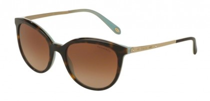 Tiffany 0TF4117B 81343B Havana Blue - Brown Gradient