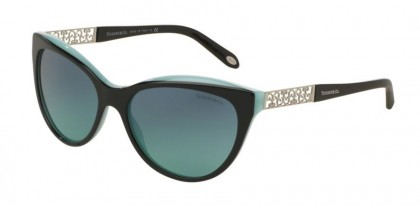 Tiffany 0TF4119 80559S Black Blue - Azure Gradient Blue