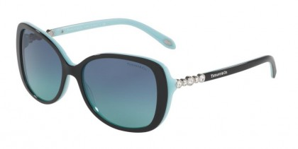 Tiffany 0TF4121B 80559S Black Blue - Blue Gradient