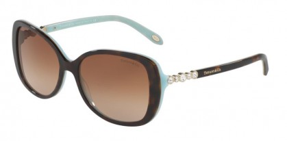 Tiffany 0TF4121B 81343B Havana Blue - Brown Gradient