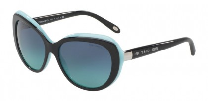 Tiffany 0TF4122 80559S Black Blue - Blue Gradient