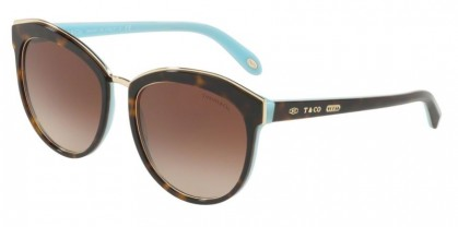 Tiffany 0TF4146 81343B Havana Blue - Brown Gradient