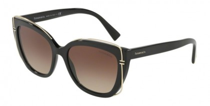 Tiffany 0TF4148 80013B Black - Brown Gradient